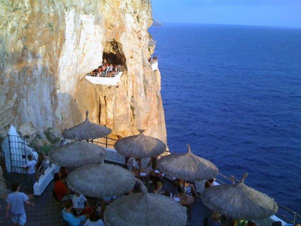 Not Your Average Spanish Bar Cova D En Xoroi Spain