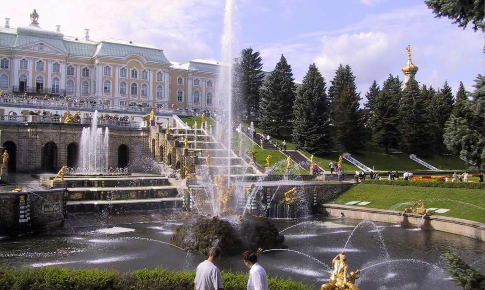 st petersburg peterhoff fountains - Fountains,,,,
