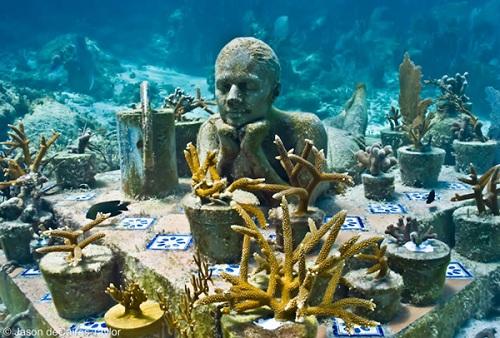 Grenada's underwater sculpture garden
