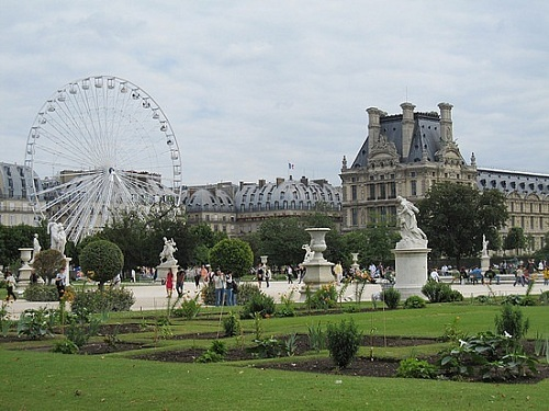 Jardin des tuileries paris for Paris tuileries