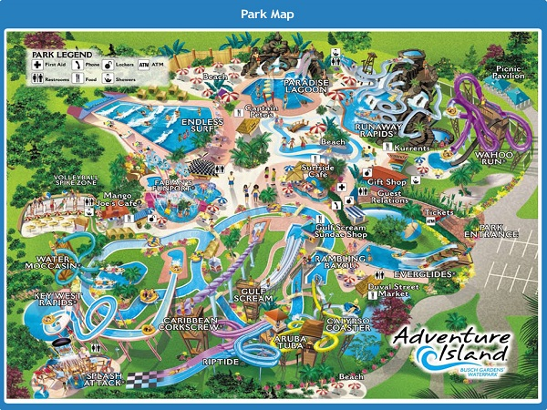 Adventure Island Tampa: Tourist Attractions In Tampa Bay, Florida