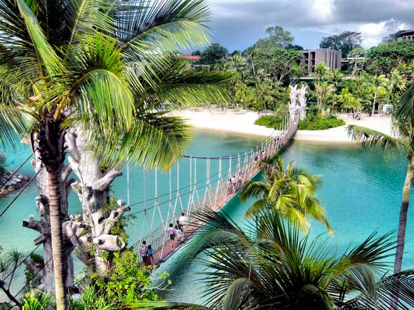 Siloso Beach Sentosa Island