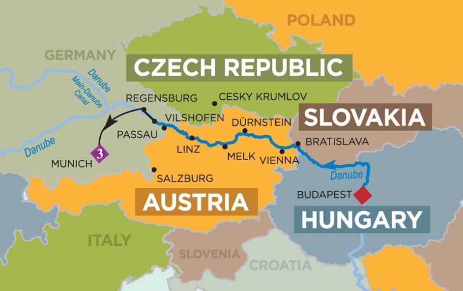 Danube river m