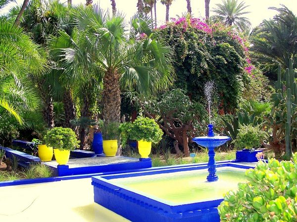 jardin majorelle marrakech morocco. Black Bedroom Furniture Sets. Home Design Ideas