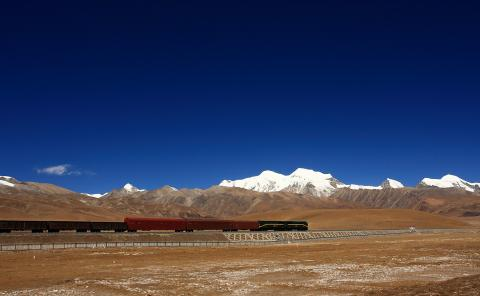 qinghai tibetan railway