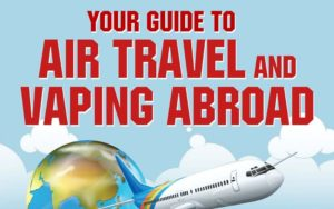 no vaping on board when traveling