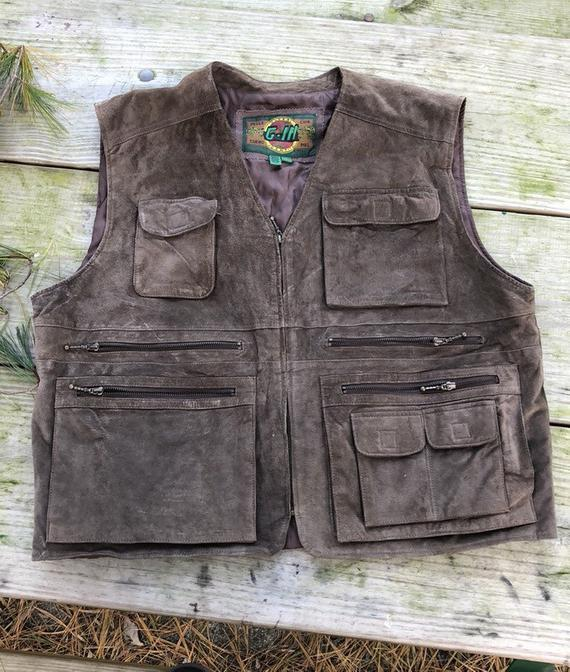 Waistcoat Vest Multi-pocket Casual Work Volunteer Travel Outdoor Camping Sports